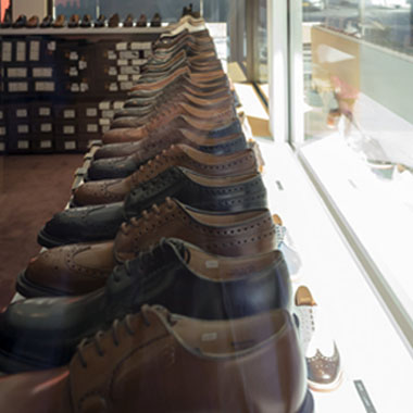 City Shoes - salle d'exposition