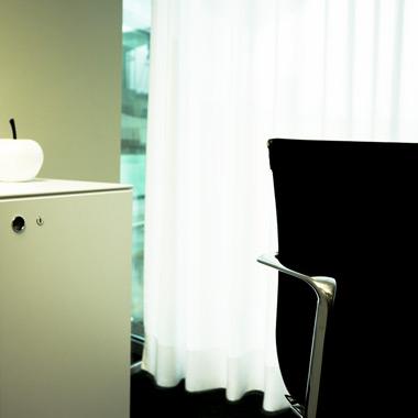détail ambiance salle de conférence - aménagement de bureaux