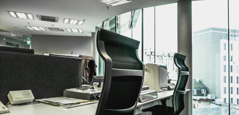 bureau open space - aménagement de bureaux