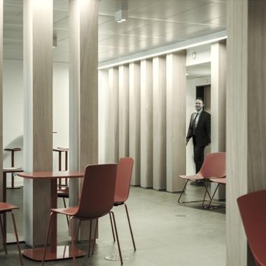 Réception, aménagement de bureaux, efficacité