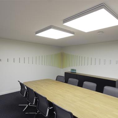 salle de réunion meeting room art contemporain peinture
