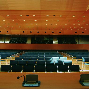 Chambre de commerce - salle de conférence