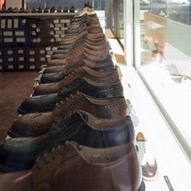 City Shoes - salle d'exposition