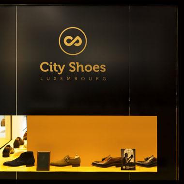 City Shoes - vitrine du magasin