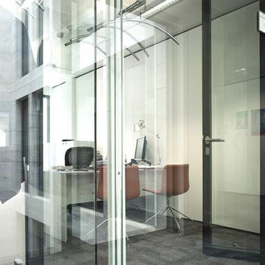 Clifford chance - bureau avec cloison vitrée