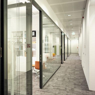 Clifford chance - bureaux avec cloisons vitrées
