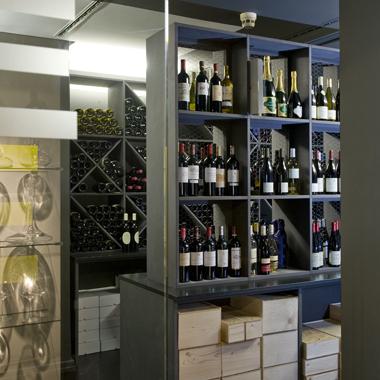 Espace réservé aux vins d'exception de IN VINO GILDAS