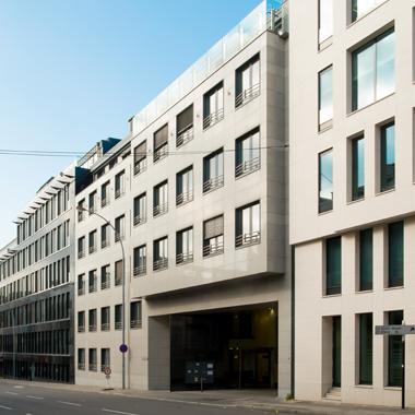 Citco Gateway - vue sur l'extérieur - façade