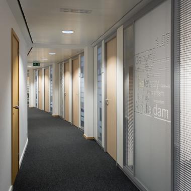 Citco Gateway - vue sur le couloir