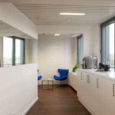 Citco Gateway - vue sur la cuisine