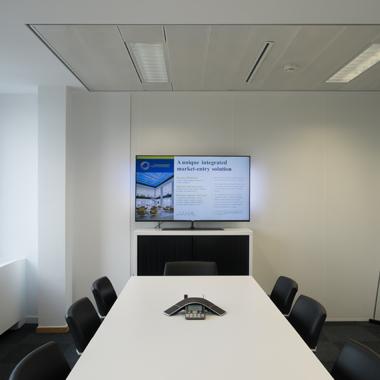 Citco Gateway - vue sur la meeting room