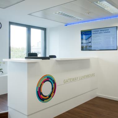 Citco Gateway - vue sur la réception