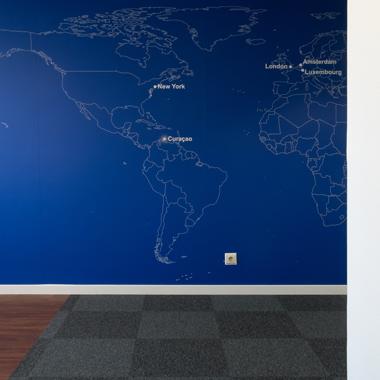 Citco Gateway - vue sur la signalétique